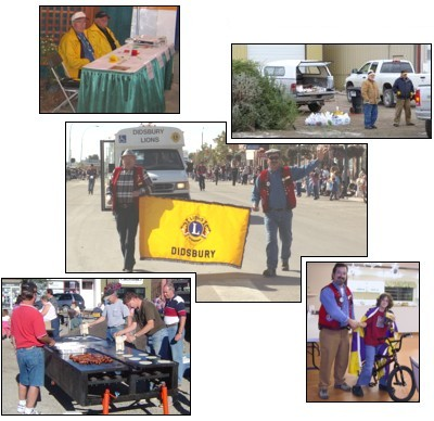 Whether it's raising funds for a worthwhile project, or helping out other organizations with their events, the Lions Club is there.
